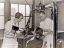 X Ray Machine in Dental Lab 1920s